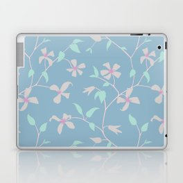 Floral Clematis Vine - Cool Summer Laptop & iPad Skin