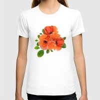 poppies T-shirts featuring Poppies by Heaven7