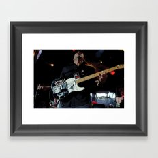 Tom Morello - Rage Against the Machine /AUDIOSLAVE Framed Art Print