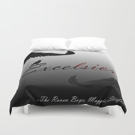 EXCELSIOR | The Raven Cycle by Maggie Stiefvater Duvet Cover