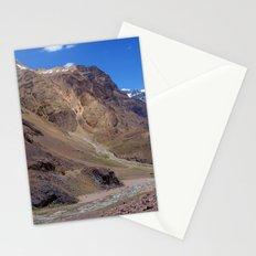 Spiti River in the Spiti Valley Stationery Cards