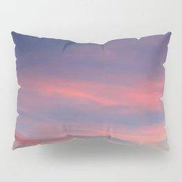 Pink sky in evening Pillow Sham