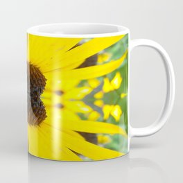 Trippy Sunflower Coffee Mug