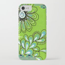 Green Flower iPhone Case