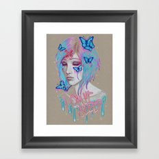 I Can't Sleep Framed Art Print