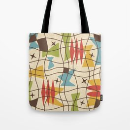 Mid Century Modern Abstract Pattern 571 Tote Bag