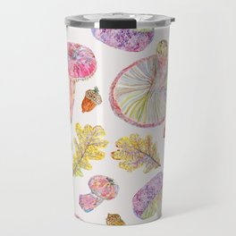 Russulas and Oak - Botanical Travel Mug