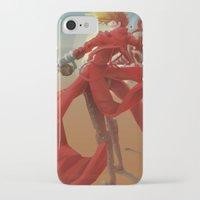 guns iPhone & iPod Cases featuring Tri Guns by Sempaiko
