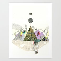 Climbers - Cool Kids Climb Mountains Art Print