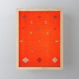 traditional Moroccan art Framed Mini Art Print