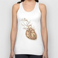 carpe Tank Tops featuring Tree of Life by Enkel Dika