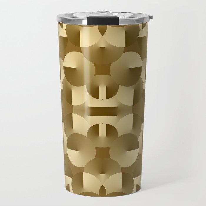Circles Collide Travel Mug