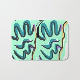 Drawing of abstraction Bath Mat