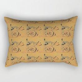 Color Me Rust Rectangular Pillow