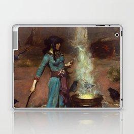 The Magic Circle John William Waterhouse Painting Laptop & iPad Skin