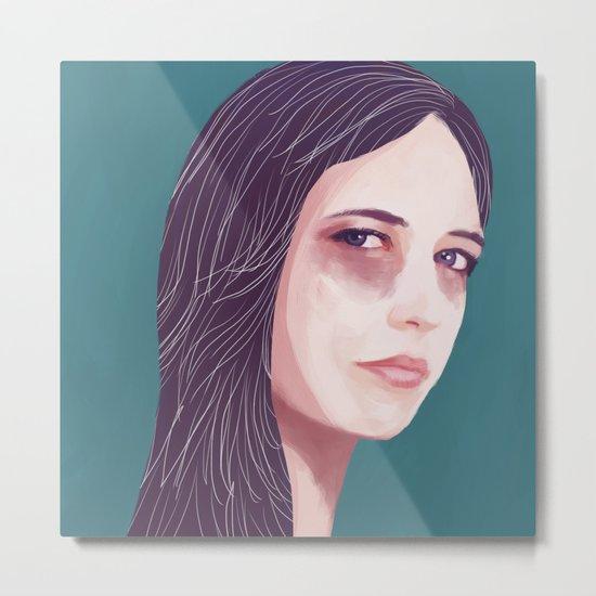 Eva Green Metal Print