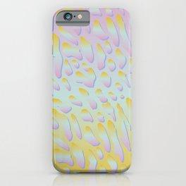 rainbow animal print iPhone Case