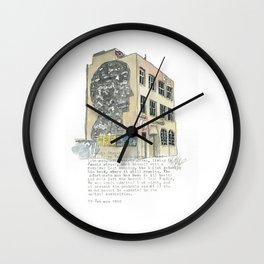 1 Jessie Street. Wall Clock