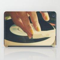 vinyl iPad Cases featuring Vinyl by Gina Conti