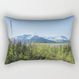 Along the Seward Highway, No. 1 Rectangular Pillow