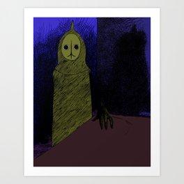 Visitor Art Print