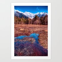 rustic Art Prints featuring Rustic by Jonah Anderson