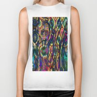 wild things Biker Tanks featuring Wild Things by RingWaveArt