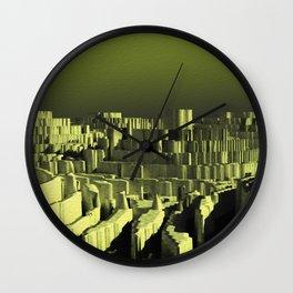 Circle city Wall Clock