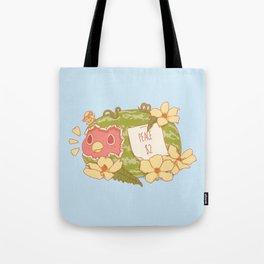 Let's Be Nice Tote Bag