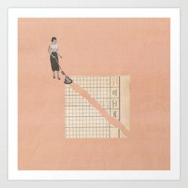 Torn Around - Vacuum Art Print