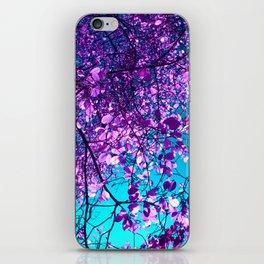 purple tree XXIX iPhone Skin