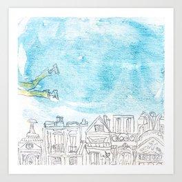 Volant Art Print