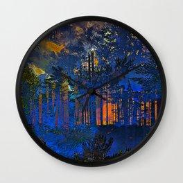 Maxfield Parish Northern Dreams Wall Clock