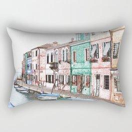 Burano #1 Rectangular Pillow