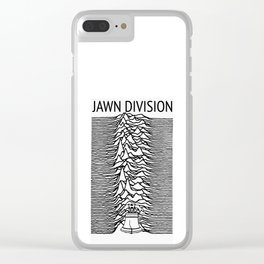 ∆ Jawn . Division ∆ Clear iPhone Case