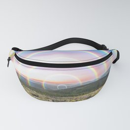 Sunrise Rainbows Landscape Fanny Pack