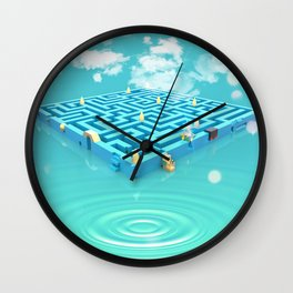 aMAZEing Wall Clock