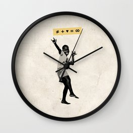 Love + Difference = Infinite Wall Clock