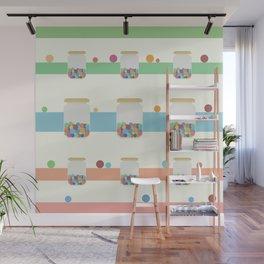 Jar of sweets Wall Mural