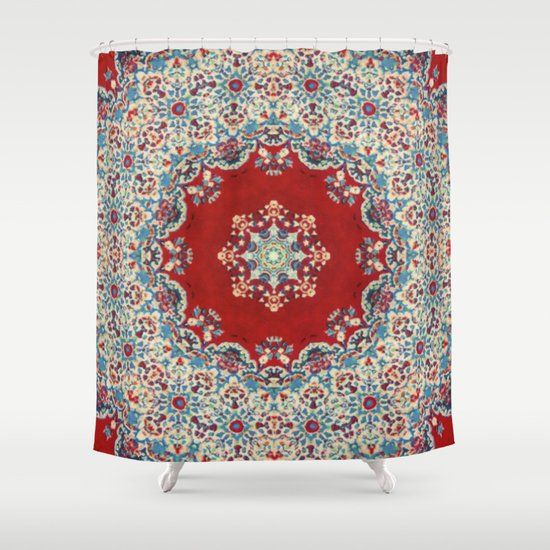 Mandala Nada Brahma  Shower Curtain