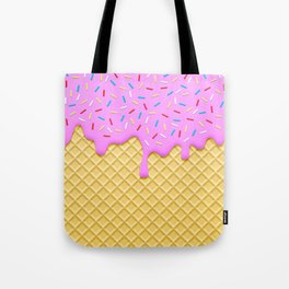 Strawberry Ice Cream Tote Bag