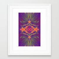 psychedelic Framed Art Prints featuring Psychedelic by chey691