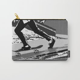 The Push-off  - Skateboarder Carry-All Pouch