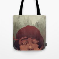 the cure Tote Bags featuring Slow Cure by James M. Fenner
