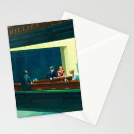 Nighthawks, 1942 by Edward Hopper Stationery Cards