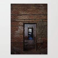 doors Canvas Prints featuring doors by indefiniteobjects