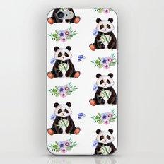Garden Panda iPhone Skin