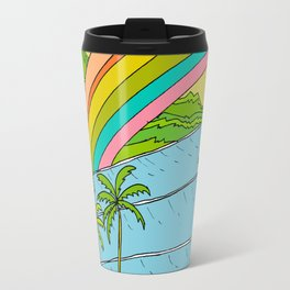 Surf Paradise Rainbow of Happiness Travel Mug