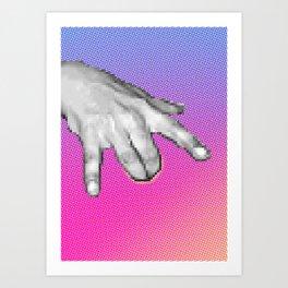Computational Fingerbang Art Print