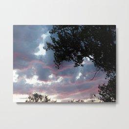Clouds No.3 Metal Print